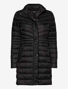 Quilted Down Jacket - doudounes - black
