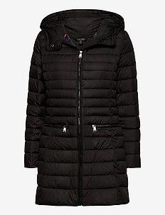 Packable Down-Fill Coat - dynefrakke - black