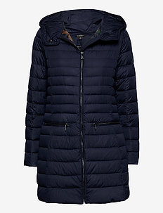 Packable Down-Fill Coat - dunkappor - navy