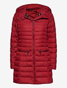 Packable Down-Fill Coat - dunkåper - red