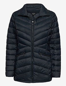 Packable Quilted Down Jacket - fôrede jakker - blue night