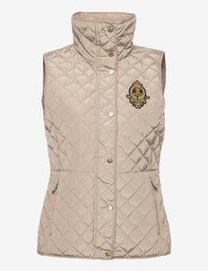 Bullion-Crest Quilted Vest - vatteret veste - new birch