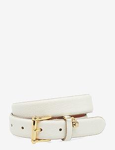 Leather Belt - VANILA