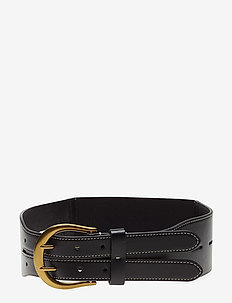 Tri-Strap Belt - BLACK
