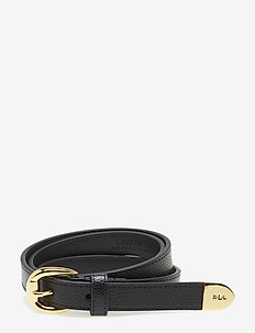 Bennington II Leather Belt - vyöt - black