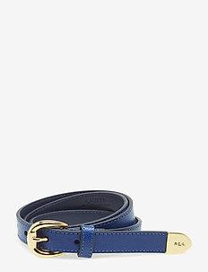 Bennington II Leather Belt - COSMIC BLUE