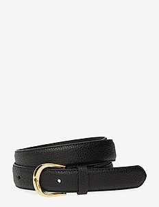 Leather Belt - vyöt - black