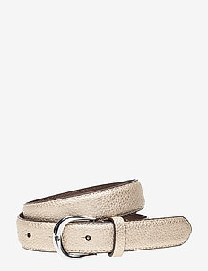Leather Belt - PLATINO