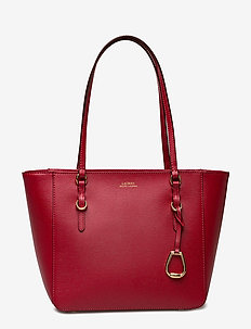 Saffiano Leather Medium Tote - RED