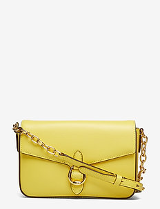 Leather Crossbody Bag - LEMON SORBET