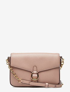 Leather Crossbody Bag - MELLOW PINK