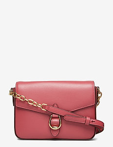 Leather Crossbody Bag - RASPBERRY GELATO
