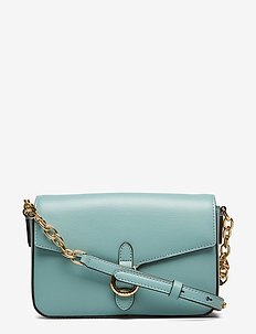 Leather Crossbody Bag - SEAFOAM