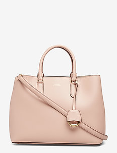 Leather Marcy Satchel - MELLOW PINK/PORCI