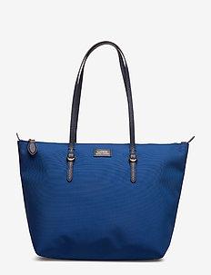 Nylon Shopper Tote - COSMIC BLUE