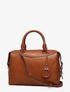 Leather Satchel - LAUREN TAN