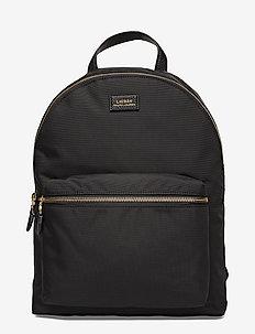 Nylon Backpack - BLACK