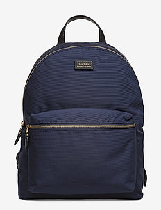 Nylon Backpack - NAVY