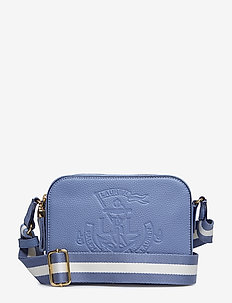 Anchor Leather Camera Bag - BLUE MIST