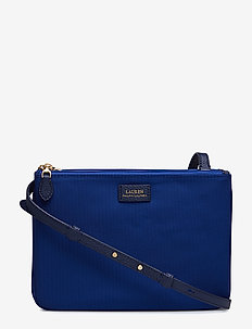 Nylon Crossbody Bag - COSMIC BLUE