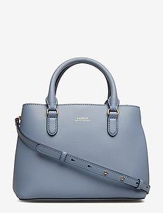 Mini Leather Satchel - BLUE MIST/COSMIC