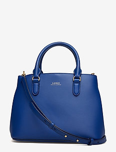 Mini Leather Satchel - COSMIC BLUE/BLUE