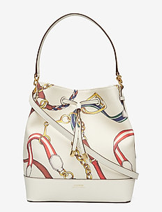 Canvas Debby Drawstring Bag - VANILLA SIG BELTI