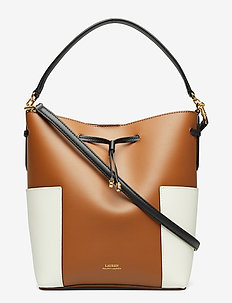 Color-Blocked Debby Bag - FIELD BROWN/VANIL