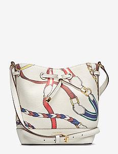 Cotton Debby II Drawstring Bag - VANILLA SIG BELTI