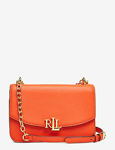 Medium Leather Crossbody Bag - PUMPKIN