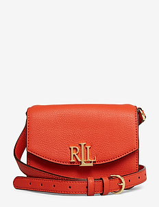Leather Crossbody Bag - PUMPKIN