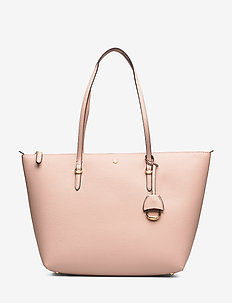 Vegan-Leather Keaton Tote - MELLOW PINK