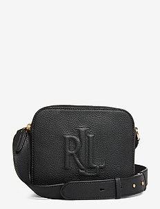 Leather Hayes Crossbody - BLACK