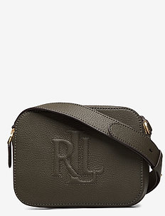 Leather Hayes Crossbody - DEEP OLIVE