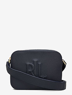 Leather Hayes Crossbody - LAUREN NAVY