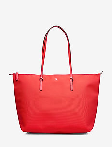 Medium Nylon Keaton Tote - fashion shoppers - sporting red