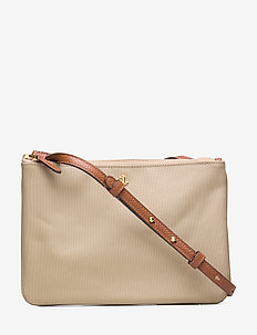 Nylon Carter Crossbody - skuldertasker - clay