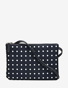 Nylon Carter Crossbody - torby na ramię - lauren navy dot