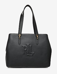 Leather Highfield Tote Bag - fashion shoppers - black