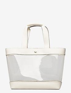 Clear Medium Tote - torebki z uchwytem - clear/vanilla