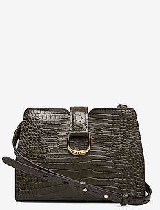 MINI CROC EMBOSS-CITY XBODY-CXB-MED - DEEP OLIVE