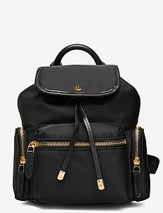 Nylon Keely Small Backpack - reput - black