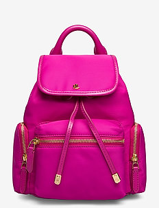 Nylon Keely Small Backpack - reput - deep fuchsia