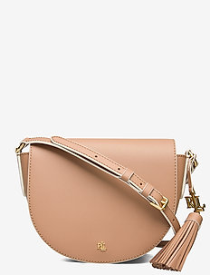 Leather Medium Crossbody - skuldertasker - nude/vanilla