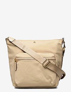 Nylon Medium Parson Bag - schoudertassen - birch tan