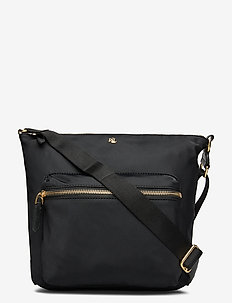 Nylon Medium Parson Bag - axelremsväskor - black