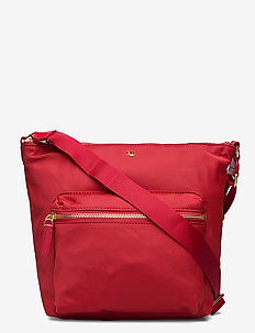 Nylon Medium Parson Bag - axelremsväskor - rl 2000 red