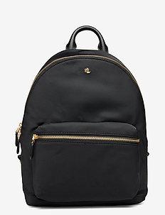 Nylon Medium Clarkson Backpack - ryggsäckar - black