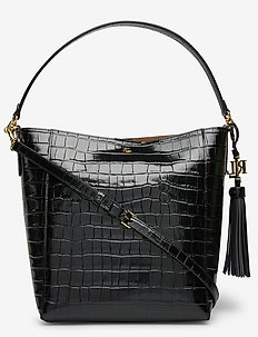 Medium Adley Shoulder Bag - henkeltaschen - black