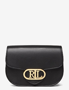 Aged Leather Medium Addie Belt Bag - bæltetasker - black